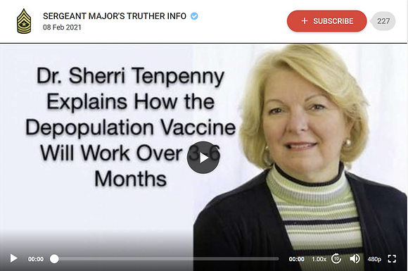 DR TENPENNY EXPLAINS HOW THE DEPOPULATION mRNA VACCINES WILL START WORKING IN 3-6 MONTHS