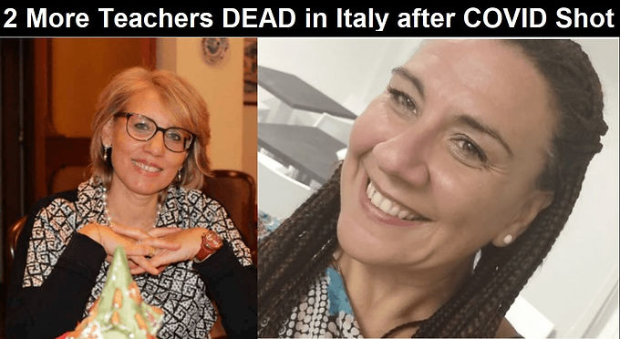 Italy: Two More Teachers DEAD After AstraZeneca COVID Shot