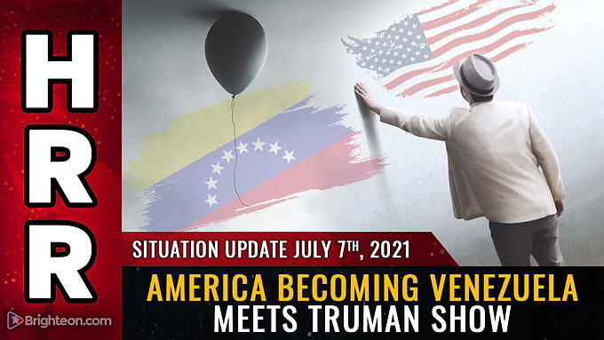 """America plunging into """"Venezuela meets Truman Show"""" as the collapse and gaslighting accelerate"""
