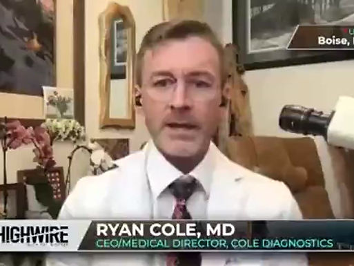 Dr Ryan Cole Explosive Rise in Inexplicable Cancer Events of Vaccinated, Cancer Receptors Suppressed
