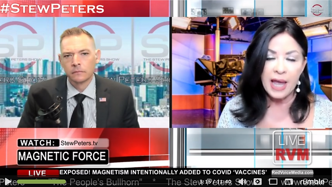 EXPOSED! Magnetism INTENTIONALLY Added to 'Vaccine' to Force mRNA Through Entire Body