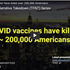 Disastrous Vaccine Stats, 200,000+ Dead in the US?