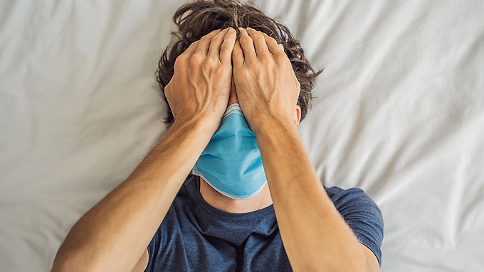 Mask mouth causes gum disease, which increases coronavirus death risk by 900%