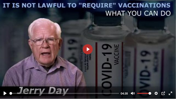 IT IS NOT LAWFUL TO REQUIRE VACCINATIONS-WHAT YOU CAN DO
