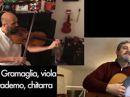 #IOSUONOACASA: Gramaglia Attademo Duo- 3a puntata
