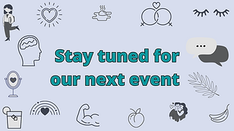 Stay tuned for our next Healthy U event