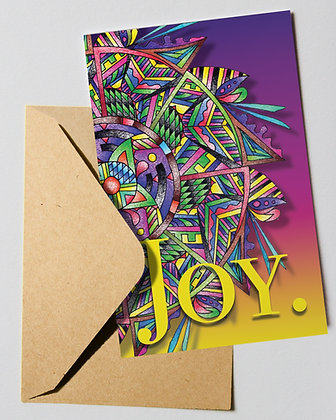 Holiday Card: Joy.