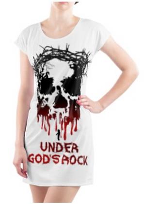 Under God's Rock Tunic Tee