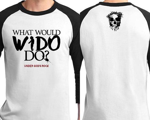 What Would Wido Do Baseball-T