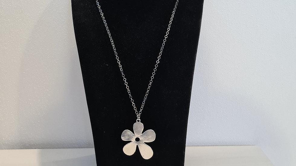Collana Flower Silver