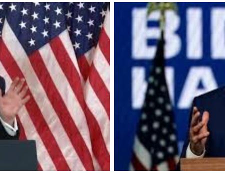 Comparing Joe Biden and Donald Trump's Election Day Speeches