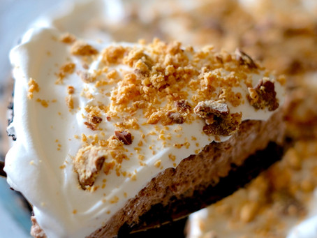 No Bake Peanut Butter Cup Pie