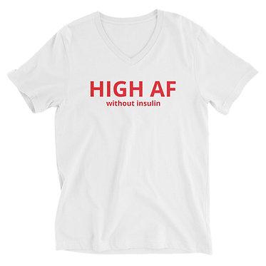 HIGH AF V-Neck T-Shirt