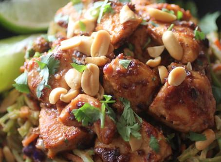 Low Carb Thai Chicken Bowls