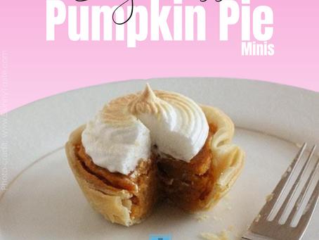 Pumpkin Pie Minis