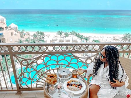 Lexie Peterson at The Ritz Carlton Grand Cayman