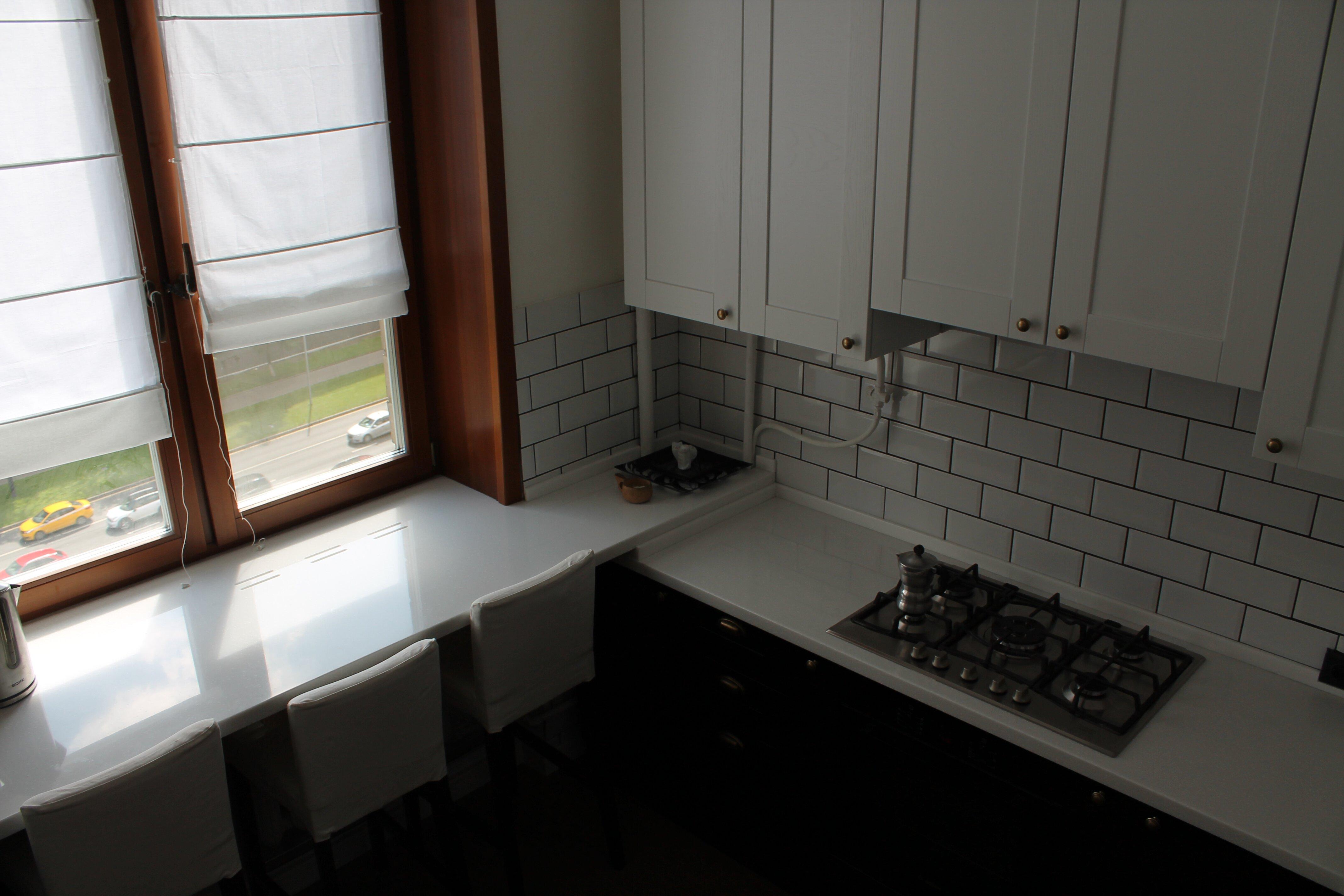 кухонный гарнитур в индустриальном стиле