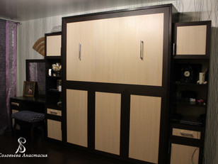 Подъемная кровать - решение проблемы ограниченного пространства жилого помещения