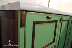 кухня из дерева в стиле прованс