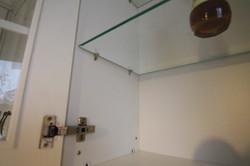стеклополки кухни
