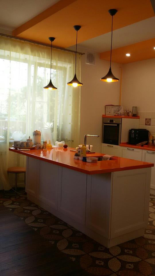 современные кухни в американском стиле