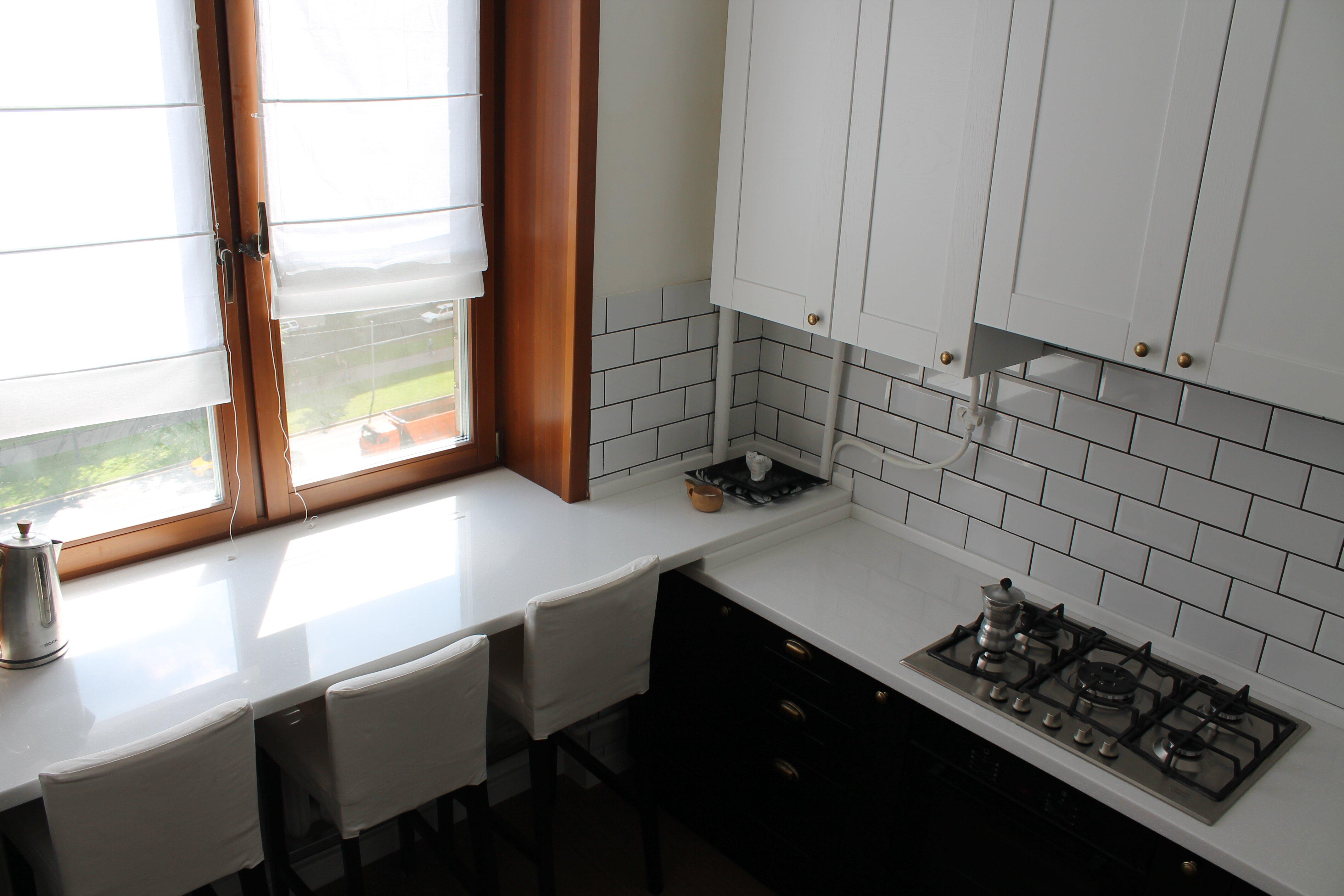 кухня для небольшой квартиры