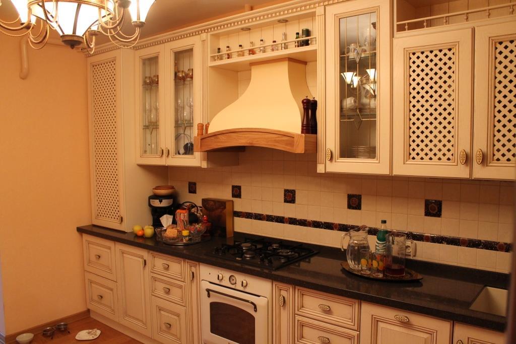 Кухня из массива на заказ 03