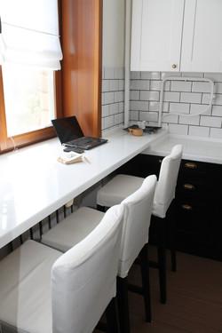 рабочее место на кухне