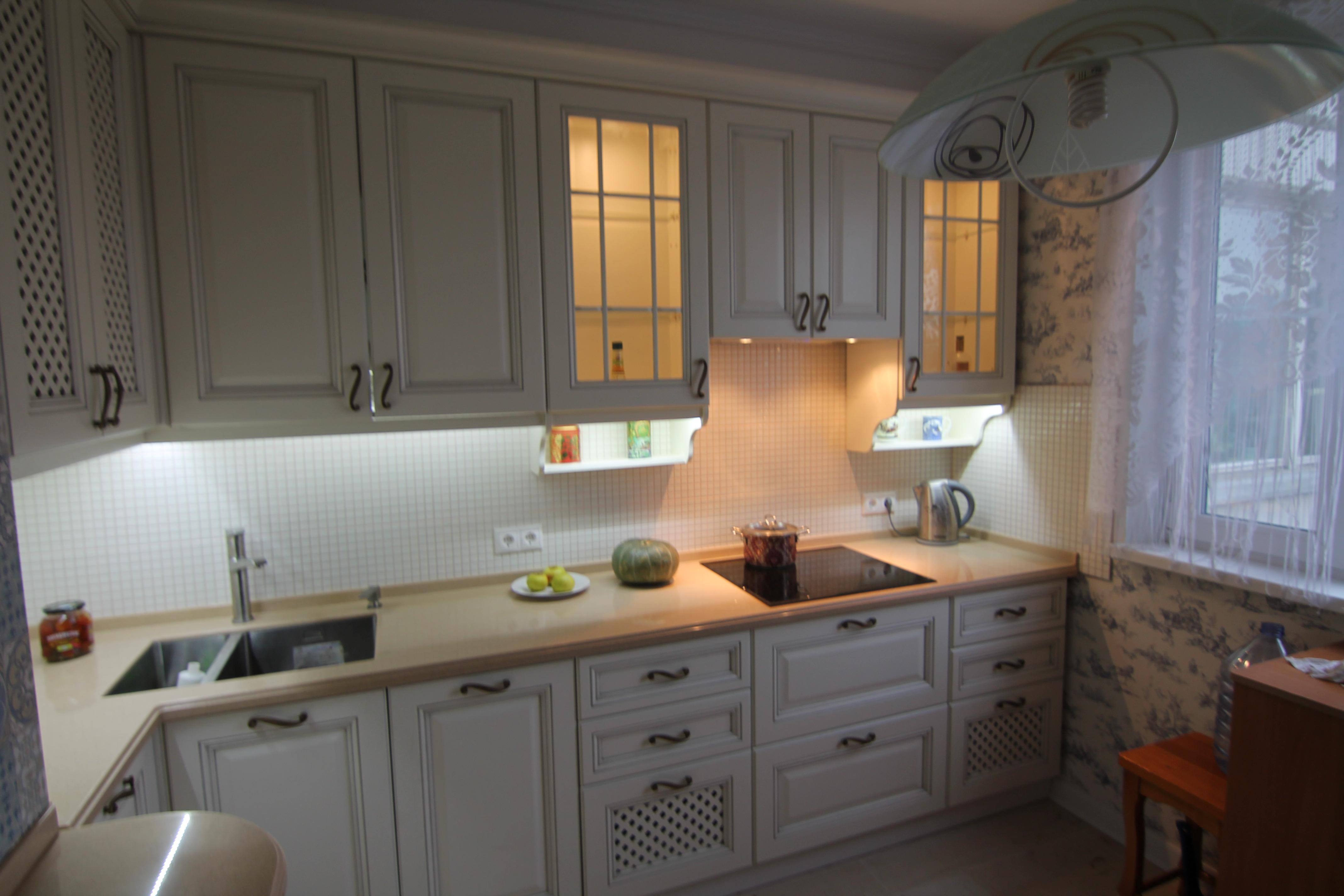 кухня в московс кой квартире
