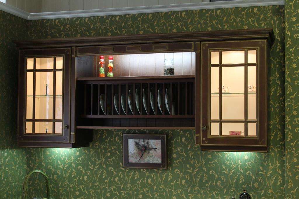 Эксклюзивная кухня из дерева 02