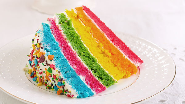 Pastel de arco iris