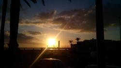 Puesta de Sol en el Arenal