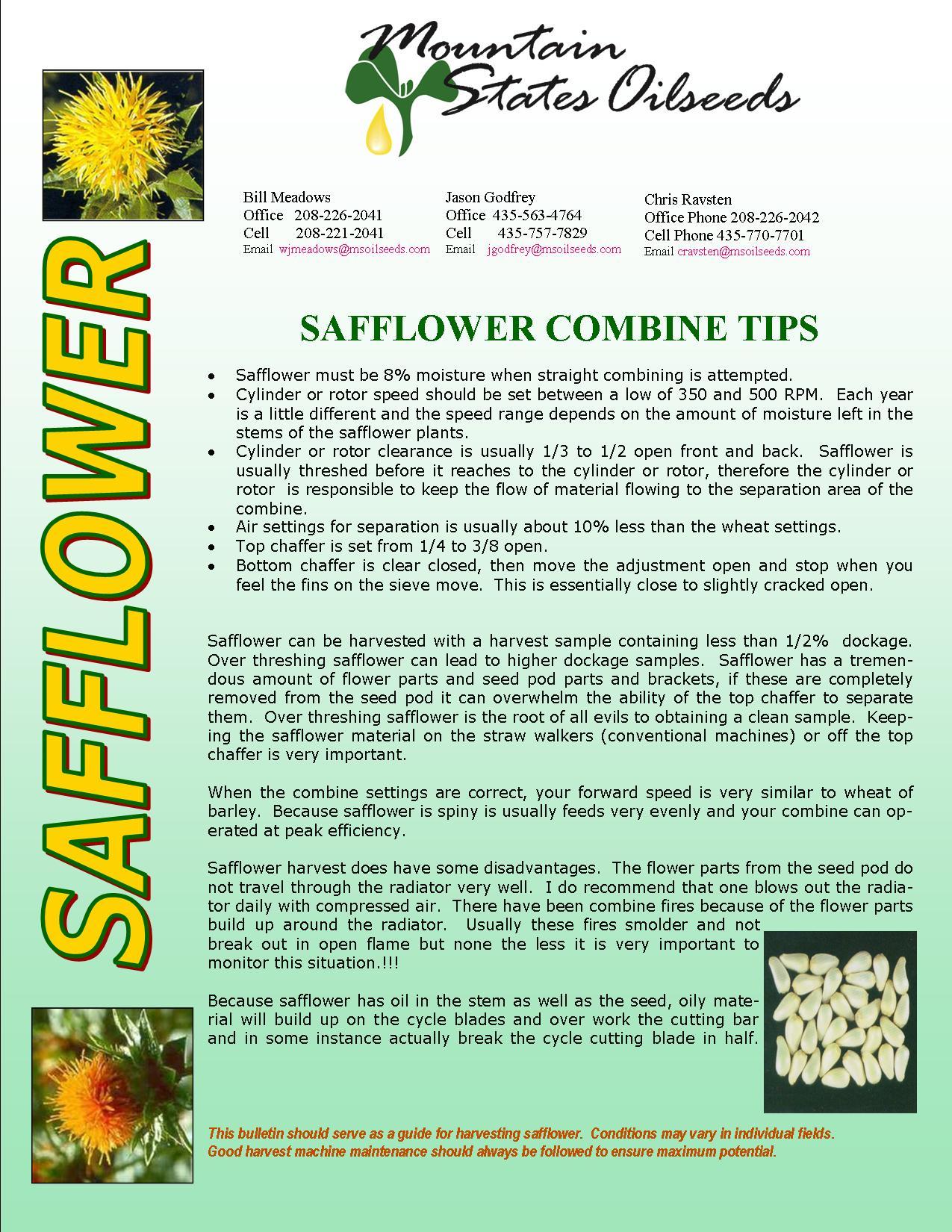 2014 SAFFLOWER COMBINE TIPS.jpg