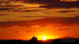 Sunset in Verdon Gorges