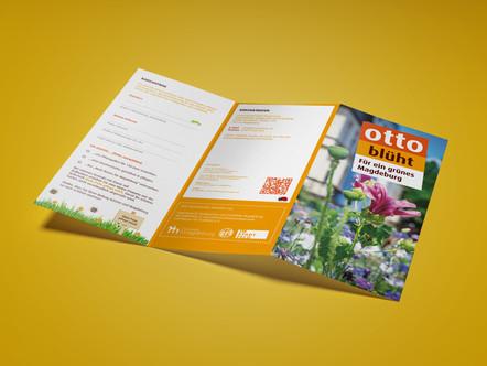 Otto blüht! Broschüre für ein grünes Magdeburg veröffentlicht.
