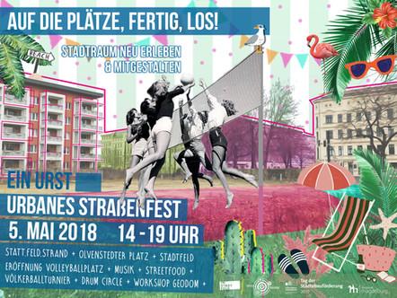Auf die Plätze, fertig, los! - Urst urbanes Straßenfest #2