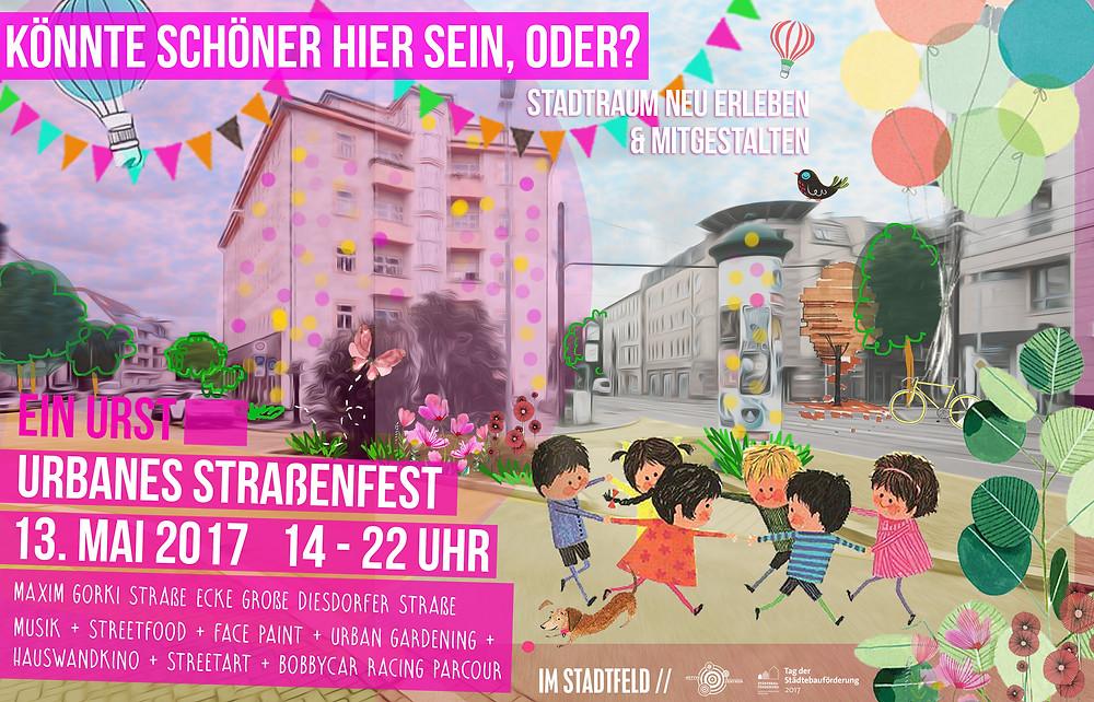 Straßenfest in Stadtfeld