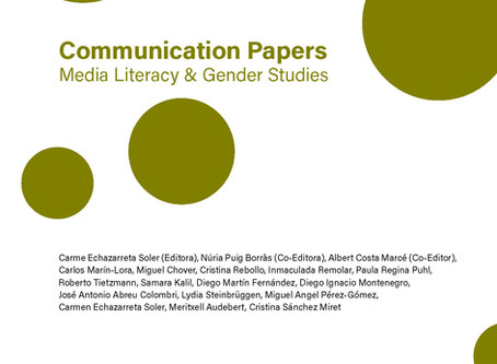 Nuevo número publicado. Communication Papers.  Número 18.
