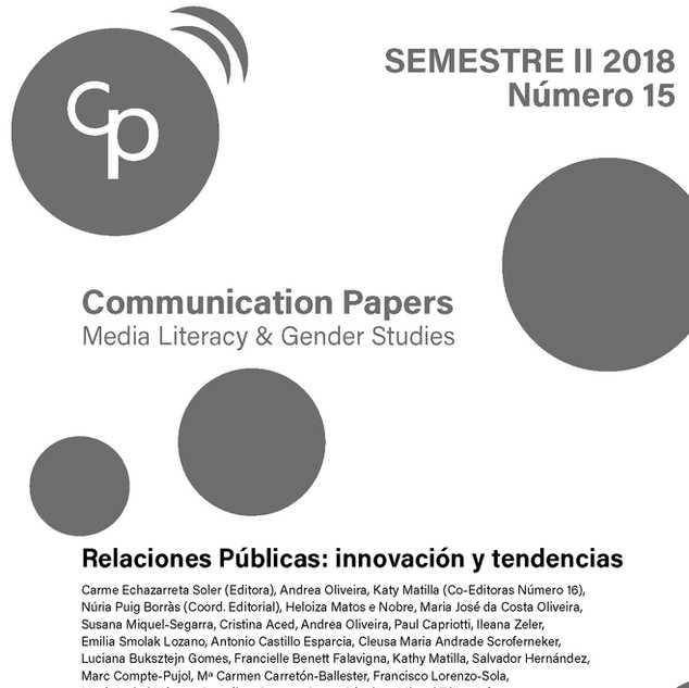 Communication Papers 15