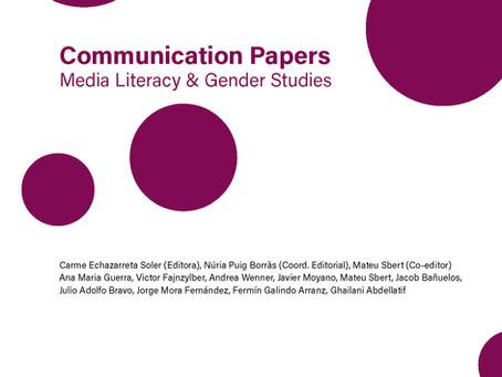 La realidad virtual y el origen de la fotografía en Communication Papers número 17.