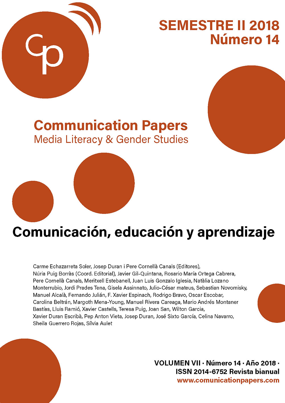 Communication Papers n.14