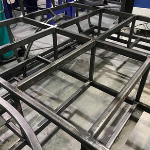 Large steel welded assembly
