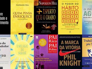 9 Livros sobre produtividade e desenvolvimento pessoal que você deveria colocar na sua lista de leit