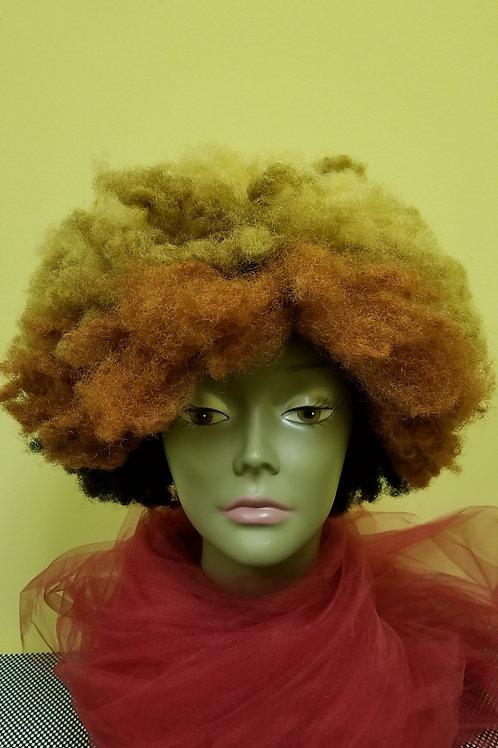 Kinky Hair Afro Unit