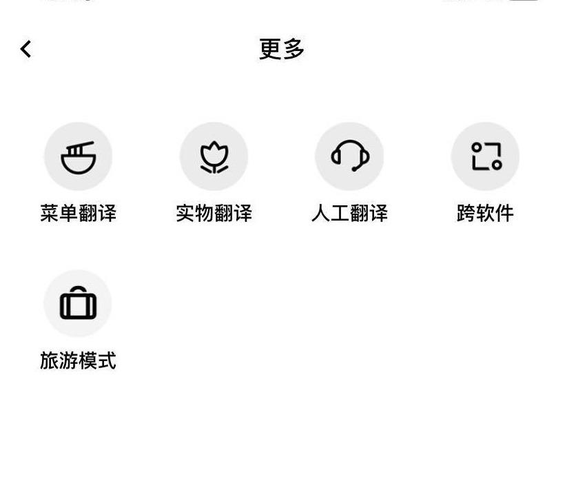 メニュー翻訳や実物翻訳など、その他の機能一覧