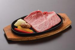 米沢牛ロースステーキ