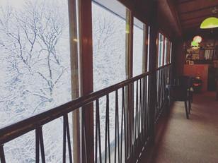 おはようございます!初雪です!!