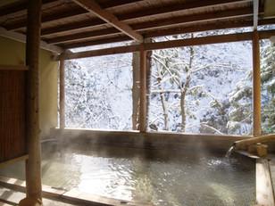 雪見風呂!