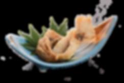 米沢鯉の骨切揚げ