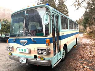 懐かしのバスが帰郷です!